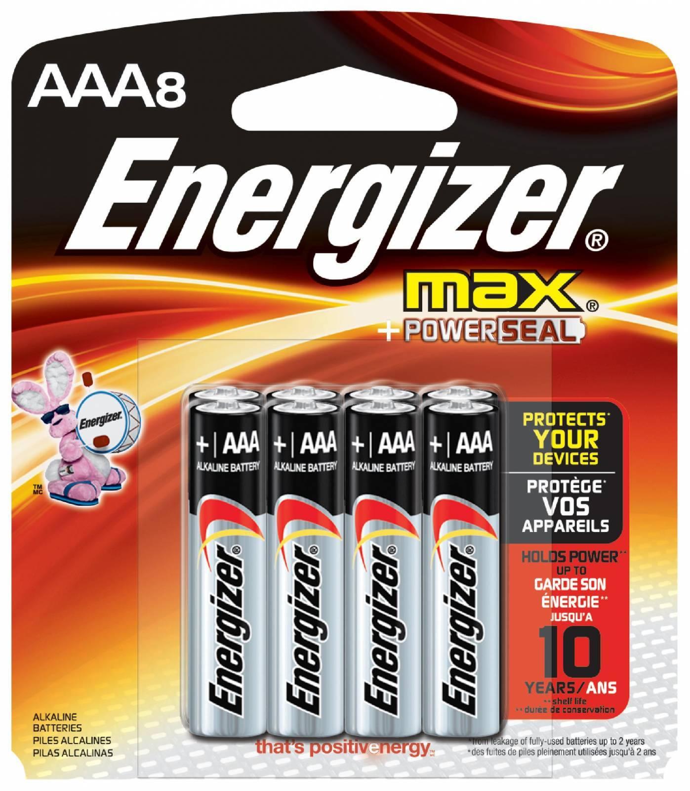 Pilha AAA Alcalina Energizer Max Blister c/ 4un. - Casa da Pilha