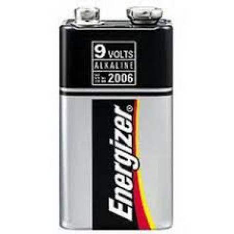 Bateria 9V Alcalina Energizer Max Blister c/ 1un. - Casa da Pilha