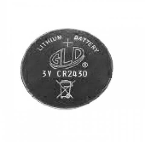 Bateria Botão CR2430 3V GLD Blister c/ 5un. - Casa da Pilha