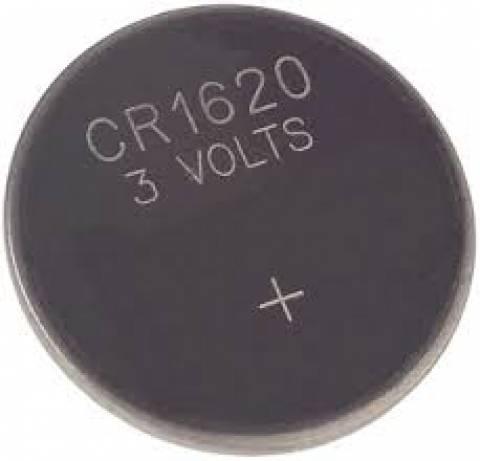 Bateria Botão 1620 3V GOLDEN POWER Blister c/ 1un. - Casa da Pilha