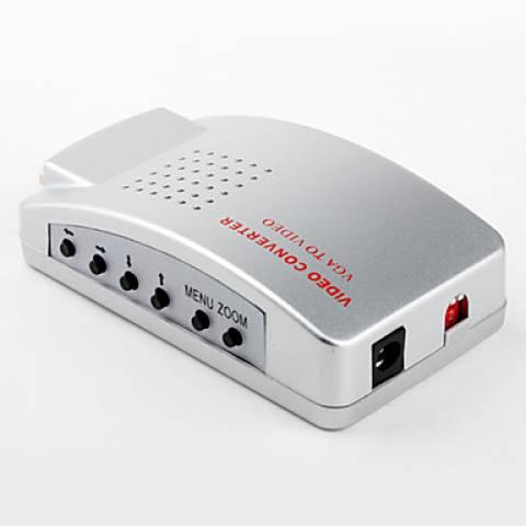 Conversor VGA para RCA + Super Vídeo - Casa da Pilha