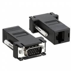 Extensor VGA até 30m via RJ45 CAT 5/6 (par)