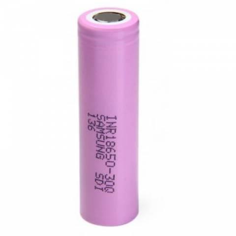 Bateria 3,7V 3000mAh INR18650 30Q Lithium Recarregável - Casa da Pilha