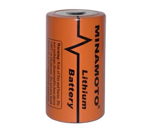 Bateria 3,6V ER14250 (1/2AA) Lithium MINAMOTO s/ Terminal - Casa da Pilha