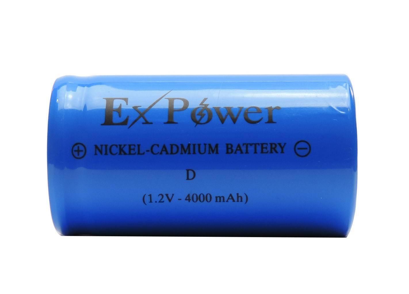 Bateria 1,2V 4000mAh Tipo D NICD c/ Terminal - Casa da Pilha