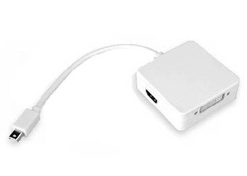 Cabo Adaptador Mini DisplayPort p/ HDMI, DVI e DisplayPort  - Casa da Pilha