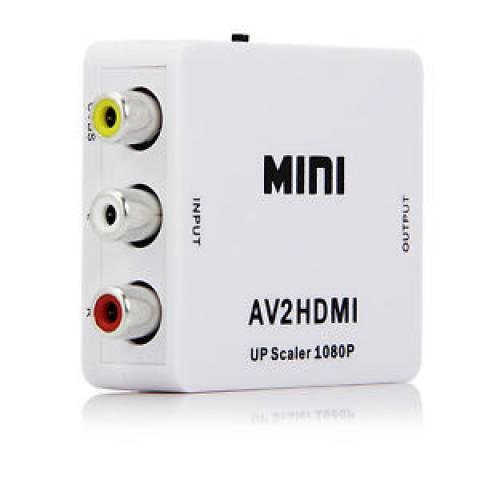 Mini Conversor RCA p/ HDMI KNUP - Casa da Pilha
