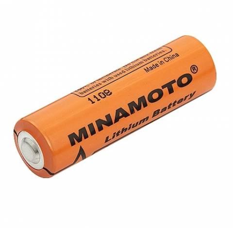 Bateria 3,6V ER14505 AA Lithium MINAMOTO s/ Terminal - Casa da Pilha