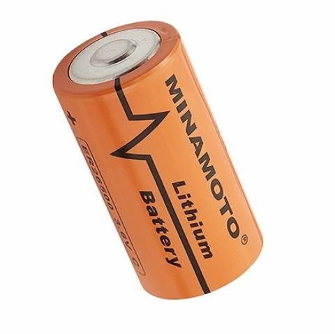 Bateria 3,6V ER26500 LITH MINAMOTO  s/ Terminal  - Casa da Pilha