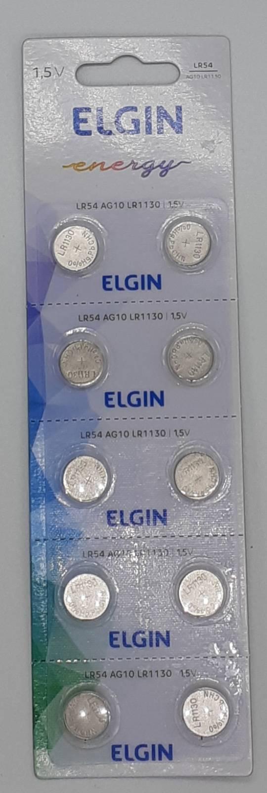 Bateria Botão LR1130 / AG10 / 389A Lithium c/10un. - Casa da Pilha