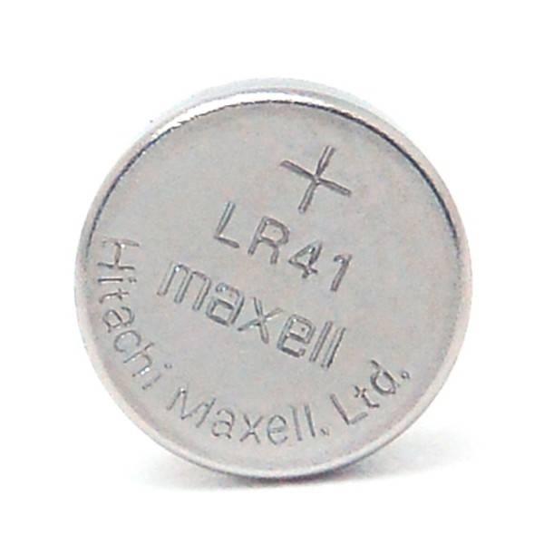 Bateria Botão LR41 / 392 / 389A / AG13 c/ 10 un. MAXELL - Casa da Pilha