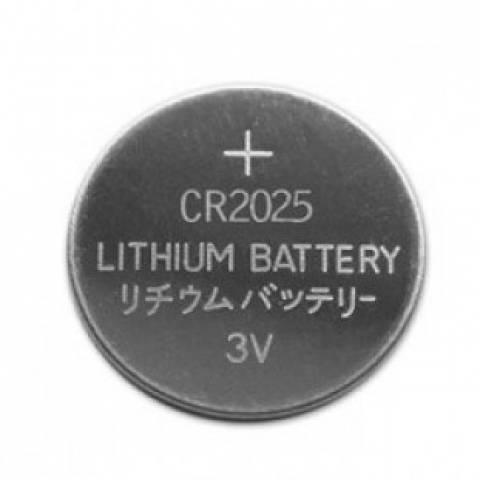 Bateria Botão CR2025 Blister c/ 5un. ELGIN  - Casa da Pilha