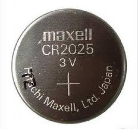 Bateria Botão CR2025 Blister c/ 5un. MAXELL - Casa da Pilha