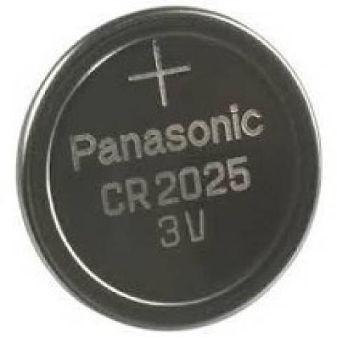 Bateria Botão CR2025 Blister c/ 5un. PANASONIC - Casa da Pilha