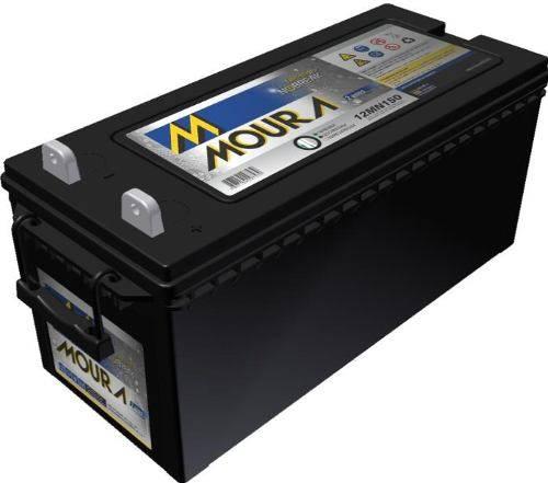 Bateria Selada 12V 150Ah Estacionária MOURA - Casa da Pilha