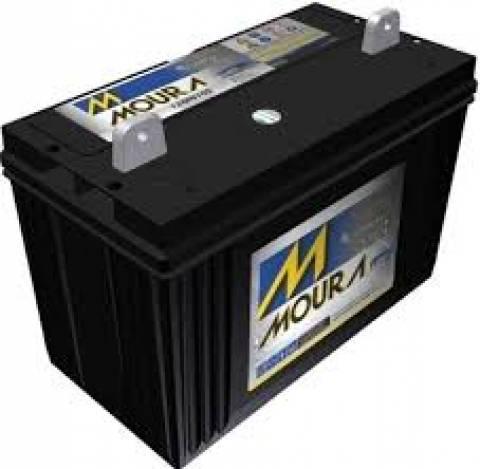 Bateria Selada 12V 105Ah Estacionária MOURA - Casa da Pilha