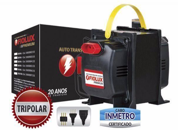 Auto Transformador 300VA Bivolt (2 sentidos) 110V | 220V FIOLUX - Casa da Pilha