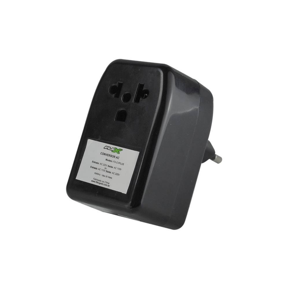 Auto Transformador 50VA Bivolt (2 sentidos) 110V | 220V FLEX - Casa da Pilha