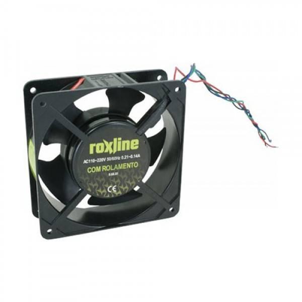Microventilador Cooler 120x120x38mm Bivolt ROXLINE - Casa da Pilha
