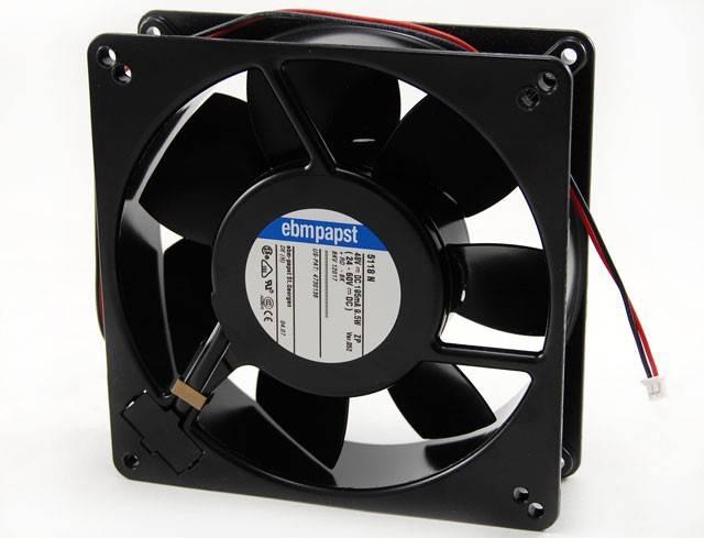 Microventilador Cooler 135x135x38mm 48V(24-60V) 5118N EBMPAPST - Casa da Pilha