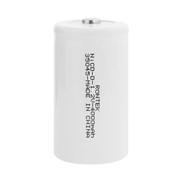 Bateria 1,2V 4000mAh Tipo D NICD s/ Terminal Blister c/ 2un - Casa da Pilha
