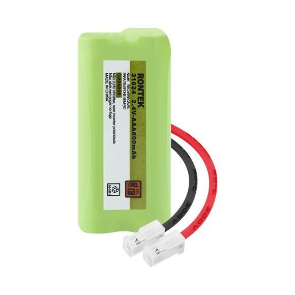Bateria p/ Telefone s/ Fio 2,4V 600mAh 2xAAA RONTEK - Casa da Pilha