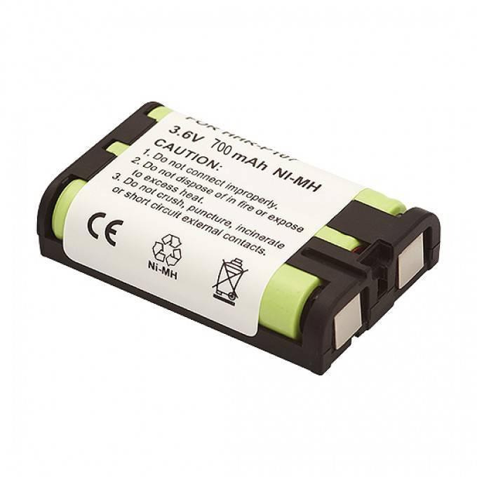 Bateria p/ Telefone s/ Fio 3,6V 700mAh P107 RONTEK - Casa da Pilha