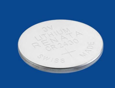 Bateria Botão CR2430 3V Lithium RENATA - Casa da Pilha