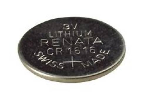 Bateria Botão CR1616 3V Lithium RENATA - Casa da Pilha