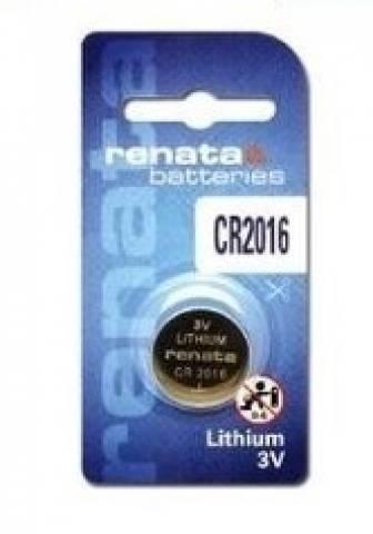 Bateria Botão CR2016 3V Lithium RENATA - Casa da Pilha