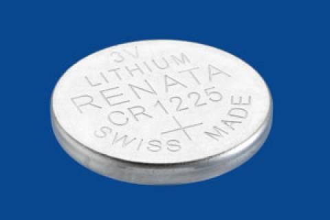 Bateria Botão CR1225 3V Lithium RENATA - Casa da Pilha