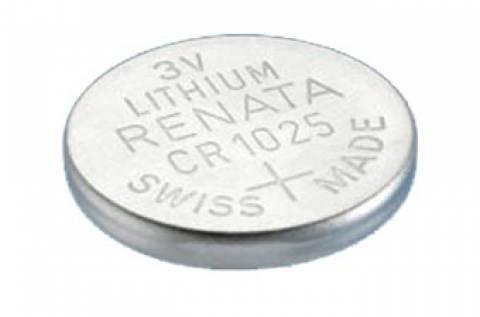 Bateria Botão CR1025 3V Lithium RENATA - Casa da Pilha