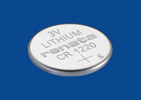 Bateria Botão CR1220 3V Lithium RENATA - Casa da Pilha