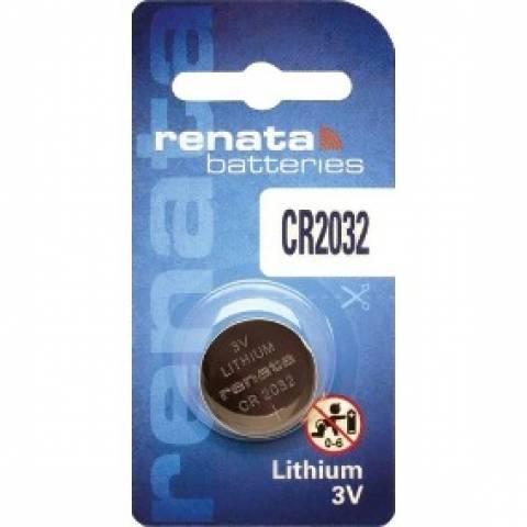 Bateria Botão CR2032 3V Lithium RENATA - Casa da Pilha