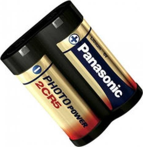 Bateria 6V 2CR5 Lithium PANASONIC - Casa da Pilha