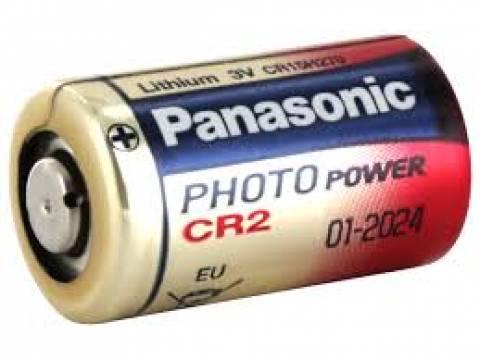 Bateria 3V CR2 Lithium PANASONIC - Casa da Pilha