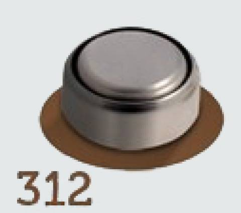 Bateria 312 p/ Aparelho Auditivo 1.45V PR41 ELGIN - Casa da Pilha