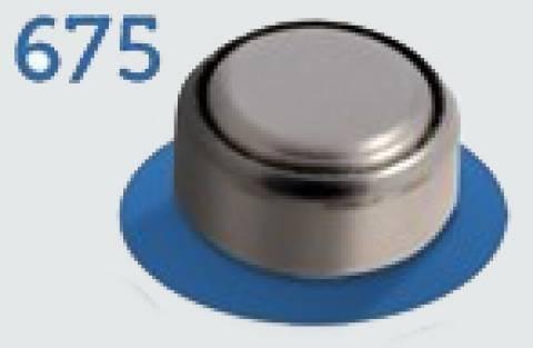 Bateria 675 p/ Aparelho Auditivo 1.45V PR44 ELGIN - Casa da Pilha