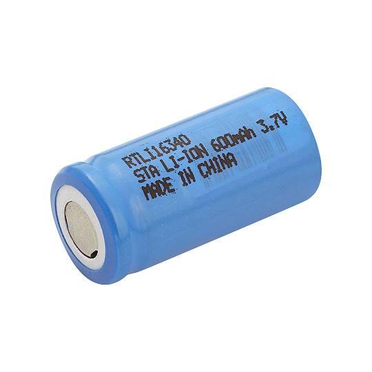 Bateria 3,7V 600mAh ICR17335 123A Lithium Recarregável EXPOW - Casa da Pilha