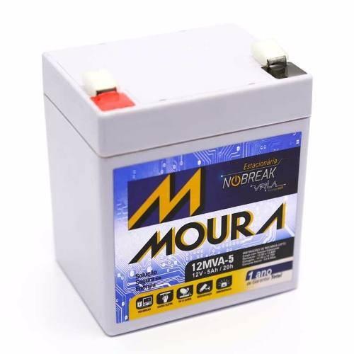 Bateria Selada 12V 5Ah VRLA MOURA - Casa da Pilha