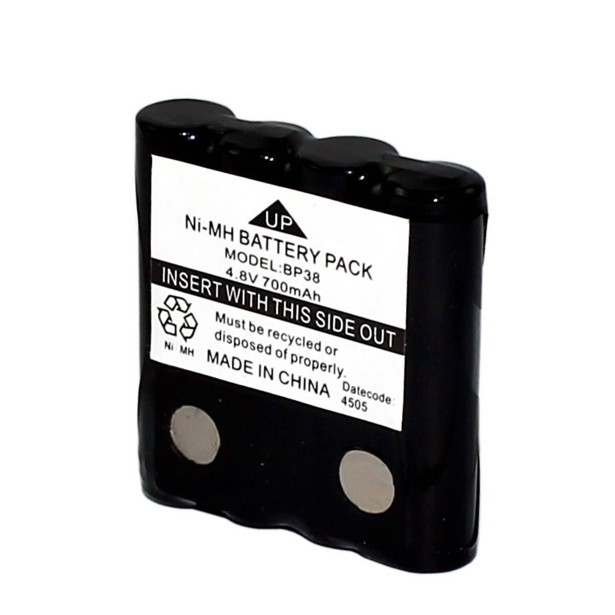 Bateria p/ Talk About | Rádio Comunicador 4,8V 700mAh 4xAAA RONTEK BP-38 - Casa da Pilha