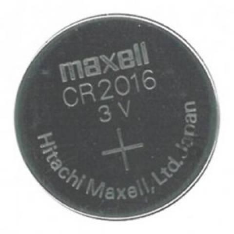 Bateria Botão CR2016 Blister c/ 5un. MAXELL - Casa da Pilha