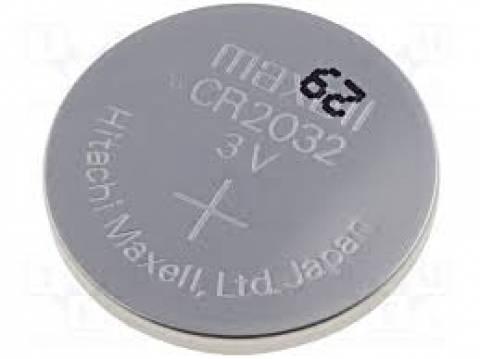 Bateria Botão CR2032 Blister c/ 5un. MAXELL - Casa da Pilha