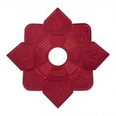 Prato Hookah King Mini Imperial Vermelho