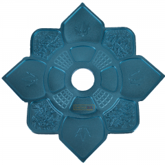 Prato Hookah King Imperial Azul