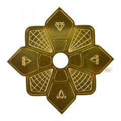 Prato Diamond Dourado