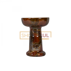 Ceramica Rosh Yes Hookah - Fire Marble Laranja Mesclado