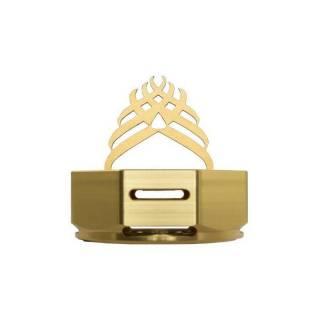 Controlador de Calor Octagon Dourado   SHISHA SUL