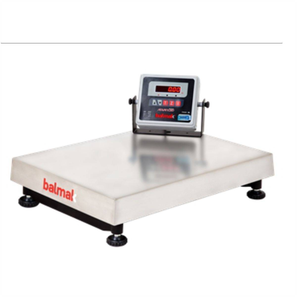 Balança Industrial Eletrônica 300Kg Inox BK-300I1B Balmak  - Magazine do Chef
