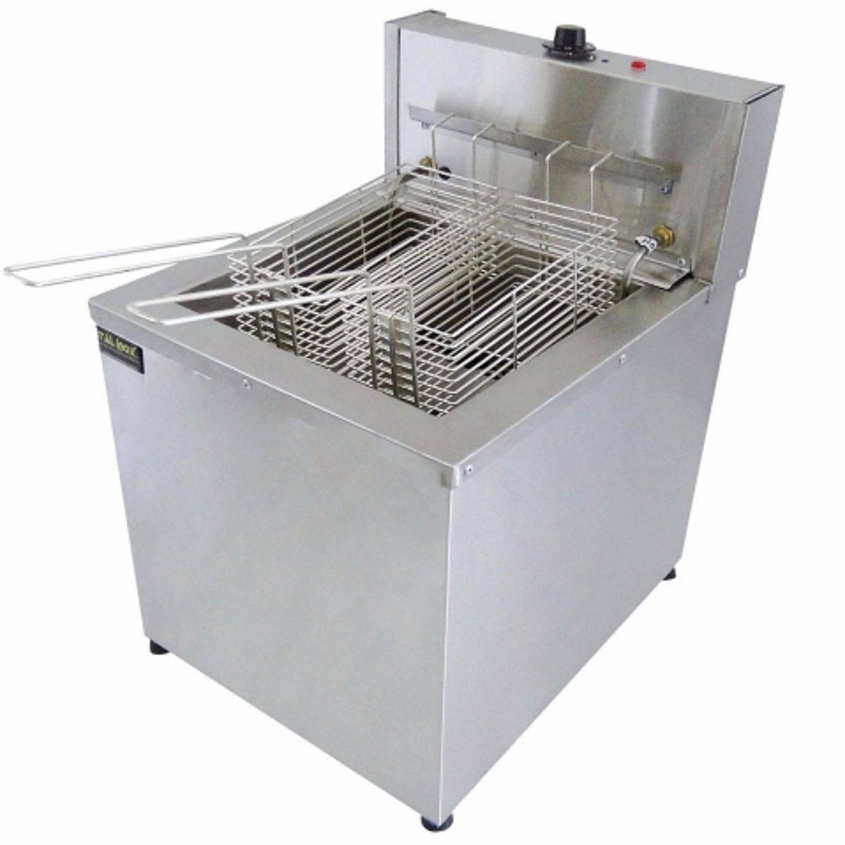 Fritadeira Elétrica Água e Óleo 18L Mesa FAOCI18M Ital Inox - Magazine do Chef